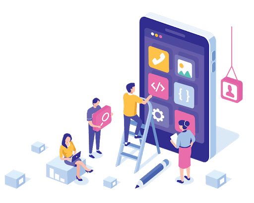 Used in Mobile App Development Services