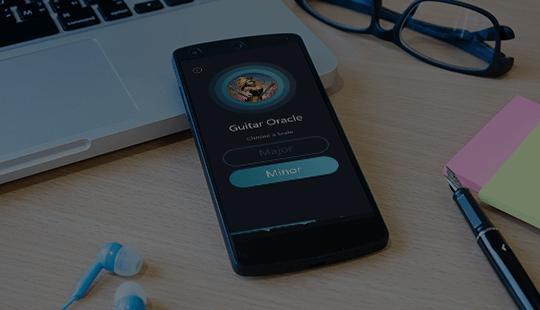 Guitar Learning App Design & Development